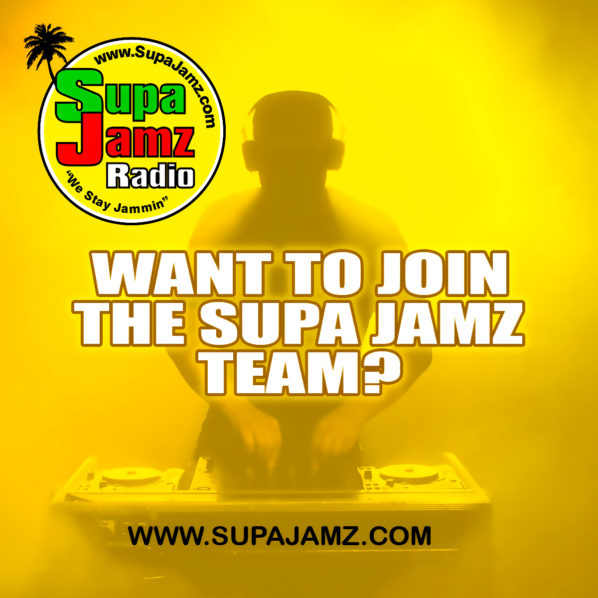 WANT TO JOIN OUR TEAM?